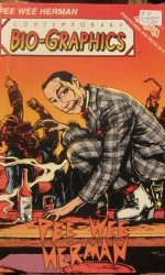 Pee wee comic book Peewee Herman