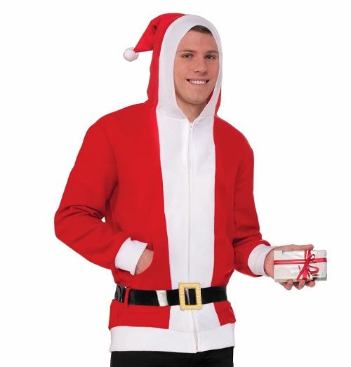 Santa Claus Christmas hoodie SantaCon