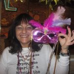 Mardi Gras Fun: adult mask winner