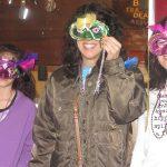 Mardi Gras fun: mask making