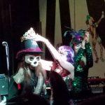 Mardi Gras fun Queen of the ball