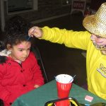 Mardi Gras fun: face painting