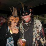 Mardi Gras fun feather masks