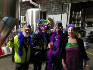 Mardi Gras fun at the Asbury Park Brewery