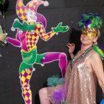 Mardi Gras fun jester