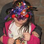 Mardi Gras fun: kids mask winner