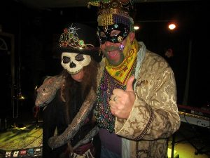 Mardi Gras Fun : king and Queen of the ball