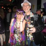 Mardi Gras fun couple