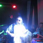 Mardi Gras fun: the Voodudes band