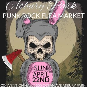 Asbury Park Punk Rock Flea Market April 2018