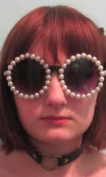 pearl glasses Chanel style pearl glasses