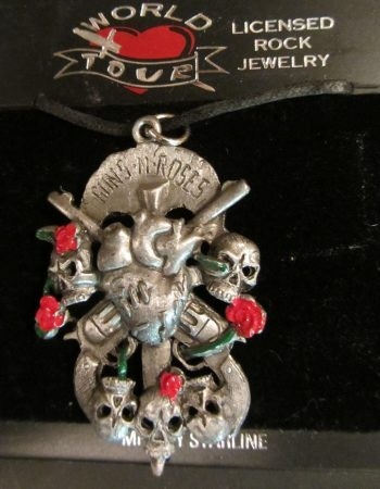 Guns N Roses necklace Rock band jewelry