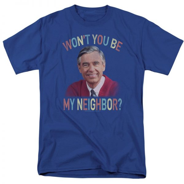 Mr Rogers t shirt Won't You Be My Neighbor