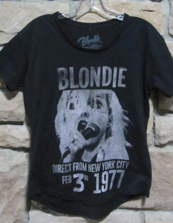Blondie concert 1977 t-shirt