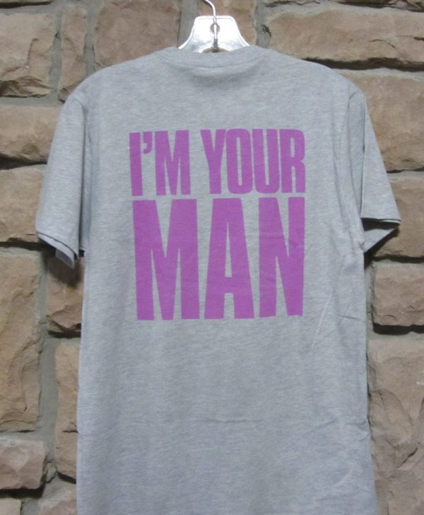 Wham t-shirt back view I'm Your Man