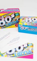 1980s trivia cards