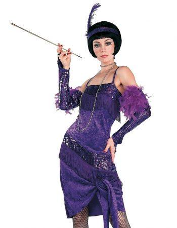 Purple flapper dress Fabulous flapper