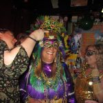 Mardi Gras events; crowning of the queen
