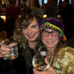 Mardi Gras events: happy hour revelers