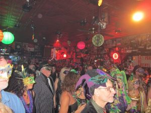 Mardi Gras events: masquerade ball