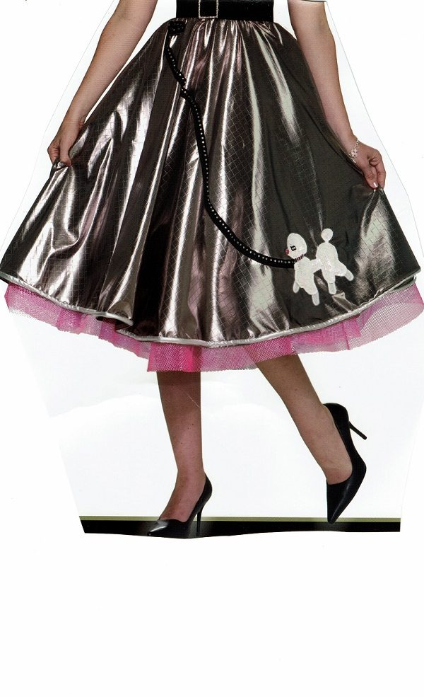 fancy adult poodle skirt