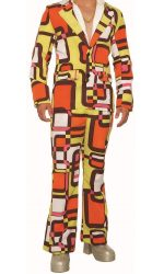 Funky suit 1970s suit Leisure suit