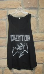 Led Zeppelin tank top