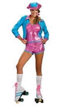 Roller girl costume Roller disco costume Roller skate girl