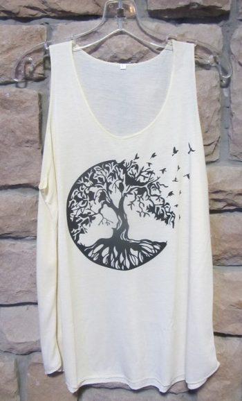 Tree of life shirt Tree birds tank top