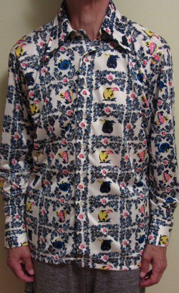 70s disco shirts Fruit