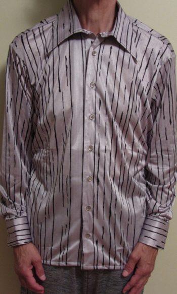 70s disco shirts Striped