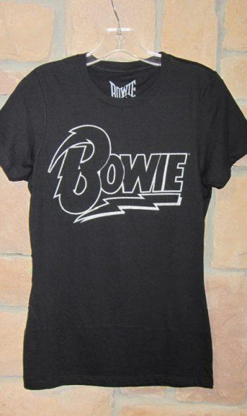 Bowie t-shirt David Bowie logo