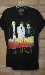 Blondie shirt boyfriend cut t-shirt