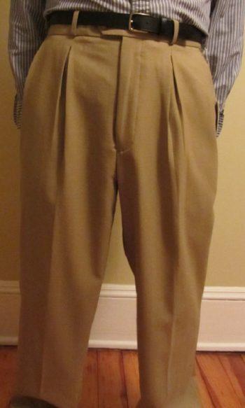 80s mens pants pleated pants