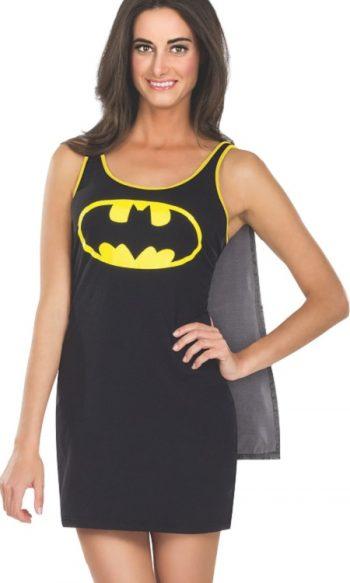 Batgirl dress with cape Batgirl costume