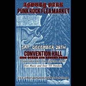 Asbury Park punk rock Christmas flea market