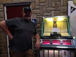 the new owner of the vintage jukebox