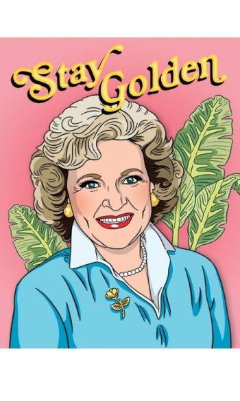 Unique birthday cards Betty White