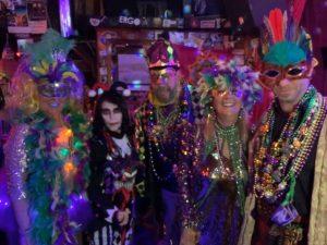 Mardi Gras celebration royalty