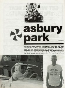 Asbury Park clubs & the boardwalk 1977