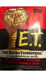 ET cards vintage trading cards