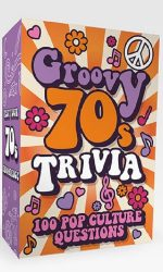 groovy 70s trivia card game