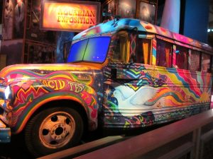 magic bus to the Woodstock festival location