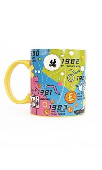 iconic 80s mug 1980s timeline mug