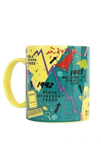 Iconic 90s mug 1990s decade mug