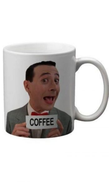 Peewee Herman retro coffee mugs