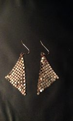 Disco mesh earrings
