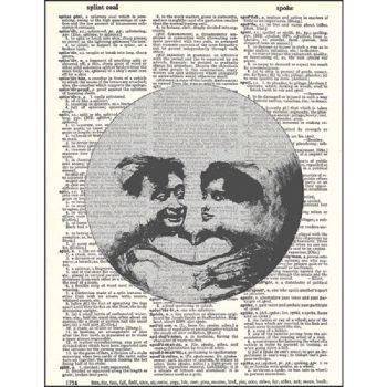 Moon lovers dictionary print