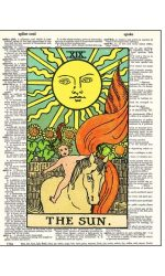 Tarot sun dictionary print