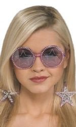 Star sunglasses Elton john round glasses
